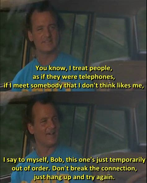groundhog day bill murray quotes what about bob 1991 the best lines