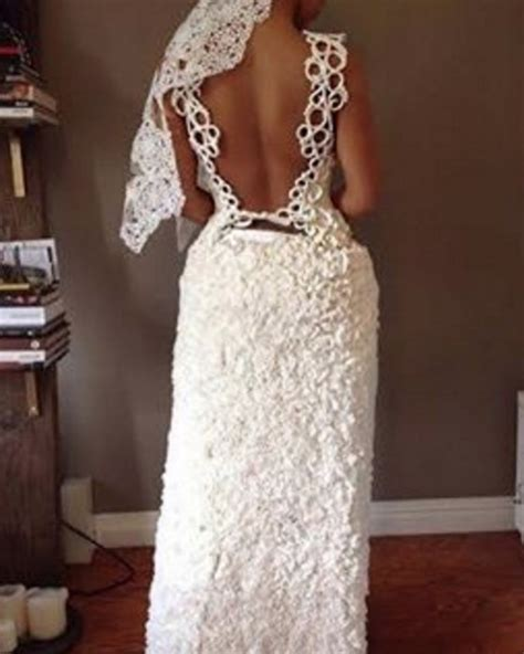 How To Make A Wedding Dress Out Of Toilet Paper - 12 stunning wedding dresses made out of toilet paper