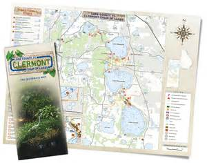 chain of lakes florida map press release new clermont chain of lakes map is
