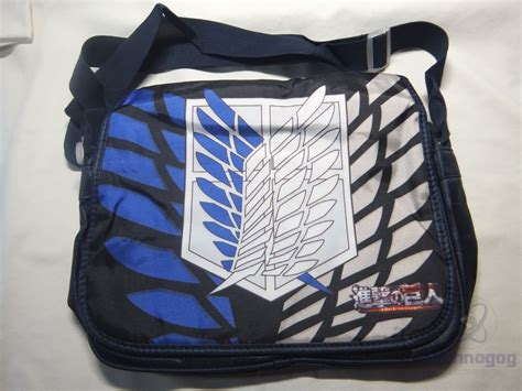review of attack on titan messenger bag from rainbowlife