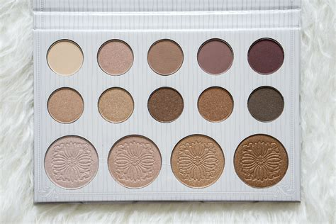bh cosmetics carli bybel palette review swatches
