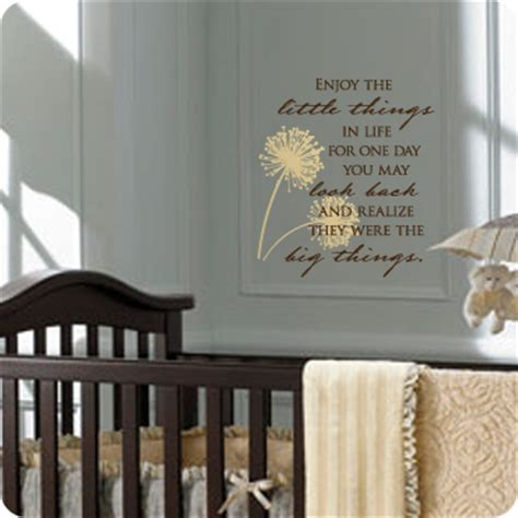 Living Room Furniture Quotes Enjoy The Things Wall Decal Free Gift On Orders