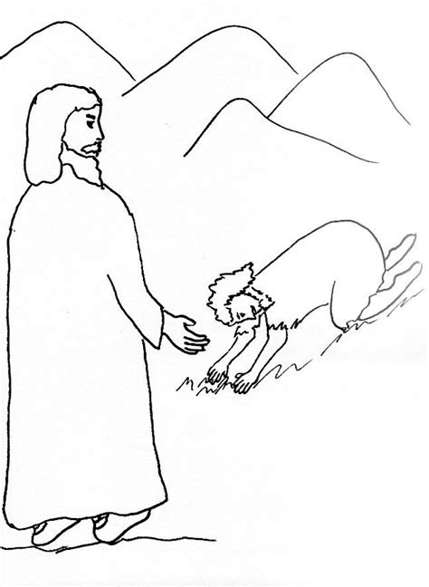 free coloring pages of jesus heals 10 lepers