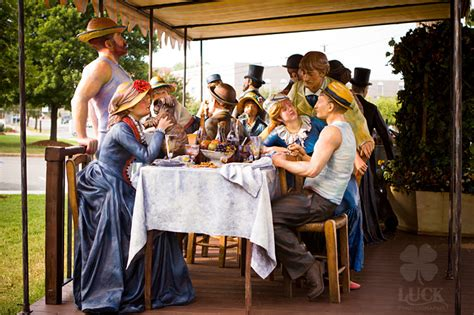 interpretation of luncheon of the boating party art reimagined a photographer s take on j seward johnson