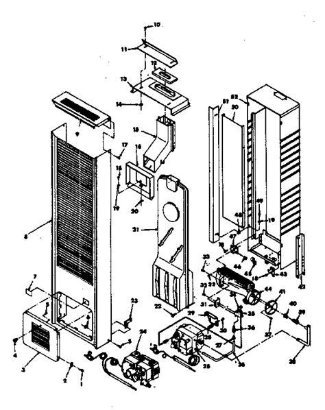 wall furnace heater diagram wiring diagrams schematics