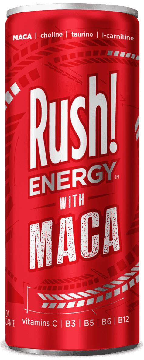 energy drink rash energy with maca