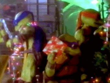 turtle christmas gifs find share  giphy