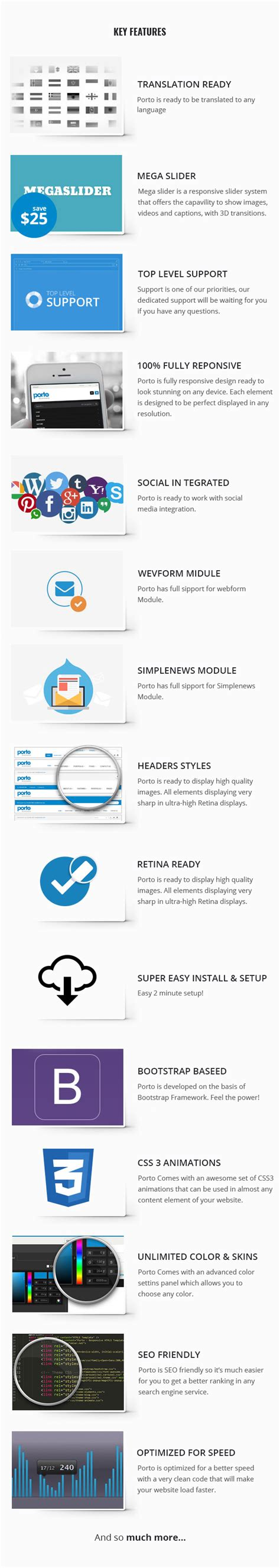drupal themes overview porto ultimate responsive drupal 7 8 theme