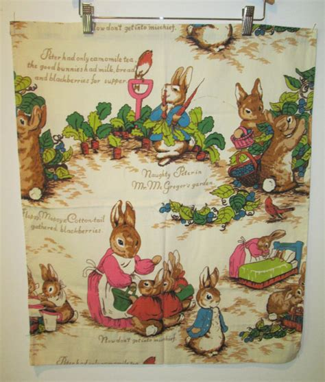 peter rabbit curtains 2 pair 70 s peter rabbit cafe curtain riverdale by