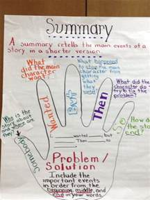 summary anchor chart write on