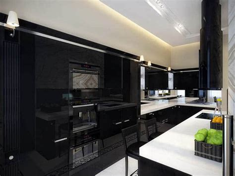 Pics Of Kitchens With Black Cabinets 20 Stylish Kitchens That Rock The Black Look