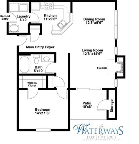 one bedroom floor plans for apartments small one bedroom floor plans joy studio design gallery