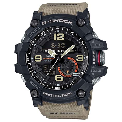 Casio G Shock Gg1000 g shock master of g gg1000 1a5 brown casio