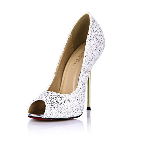white color heel shoes high heel office work shoes