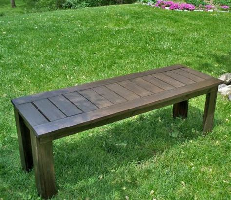 simple outdoor bench plans outdoor bench plans