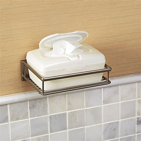 bathroom wipes holder buy wall mounted wet wipe holder from bed bath beyond