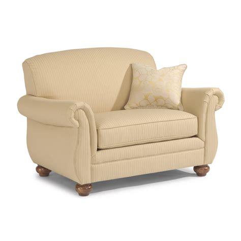 flexsteel winston sofa flexsteel 5997 101 winston fabric chair and a half