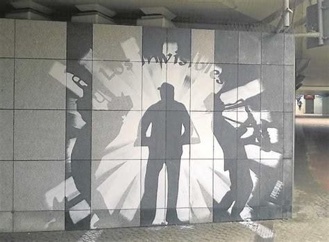 krakow ciekawe ale nielegalne graffiti na rondzie