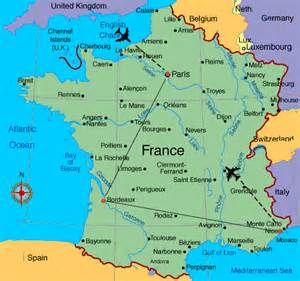 Tours France Map by Flavors Of France Map