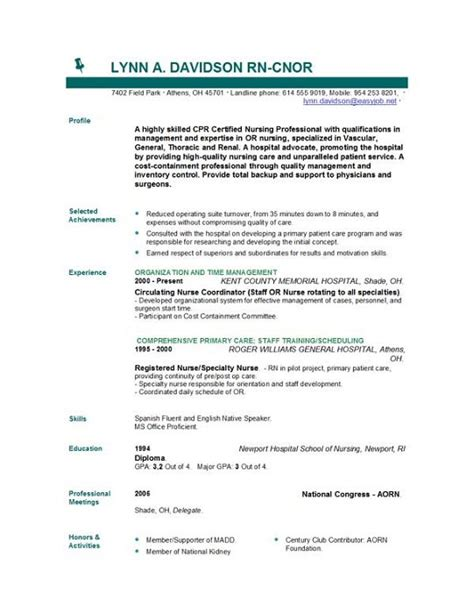 sample entry level healthcare resume isale