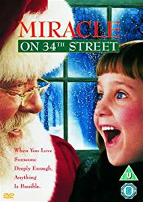 Miracle On 34th St 1994 Free Miracle On 34th Dvd 1994 Co Uk Richard Attenborough Elizabeth Perkins