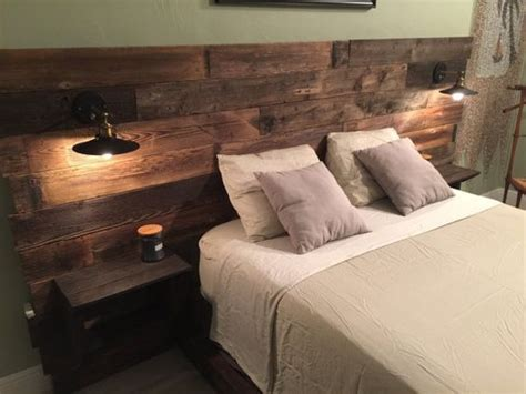 King Size Headboard With Lights by 25 Best Ideas About Headboard Lights On