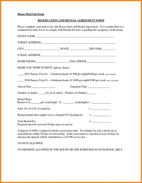 6 house rent agreement format applicationleter com