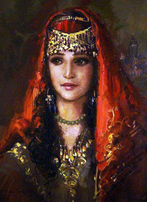 ottomane volk cosicas varias pintura turca moderna ramzi taskiran