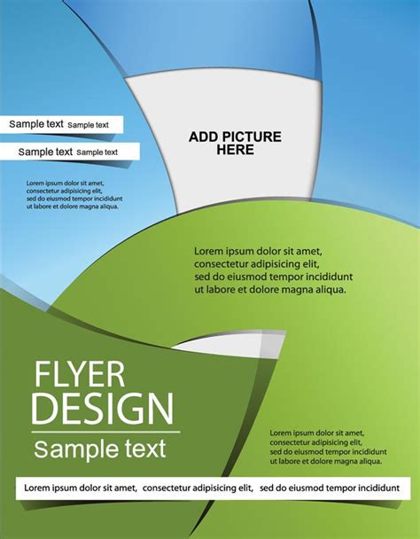 creative flyer design vector creative brochure covers vector design