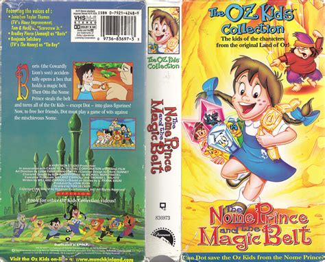 Toaster Kids Movie The Nome Prince And The Magic Belt Vhs Box By Sankajones