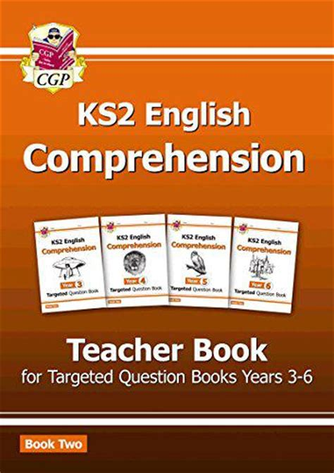 new ks2 english targeted new ks2 english targeted comprehension teacher book 2 years 3 6 cgp books p