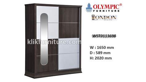Lemari Olympic Tiga Pintu wst0113698 lemari pintu geser olympic