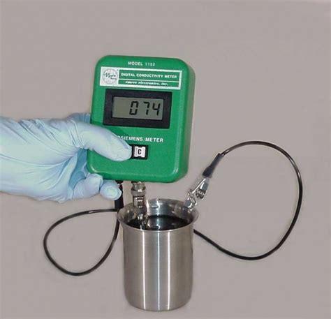 Digital Conductivity Meter model 1152 digital conductivity meter emcee electronics