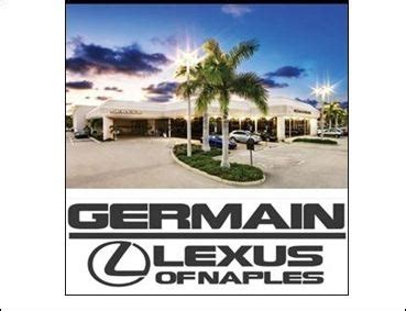 germain lexus of naples lexus service center