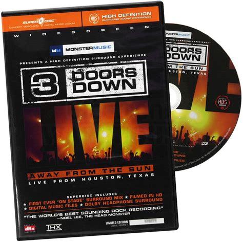 3 Doors Away From The Sun Lyrics by 3 Doors Dvd Away From The Sun Live From Houston
