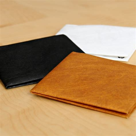 How To Make A Cool Paper Wallet - a cool slim tyvek wallet for a reasonable price