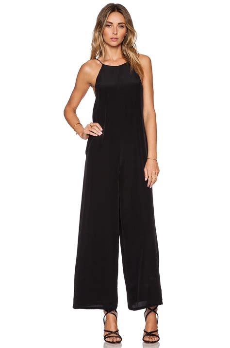 Jumpsuit Helena helena quinn jumpsuit in black lyst