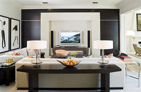 Modern Living Room With Tv by Living Room With Television Plushemisphere
