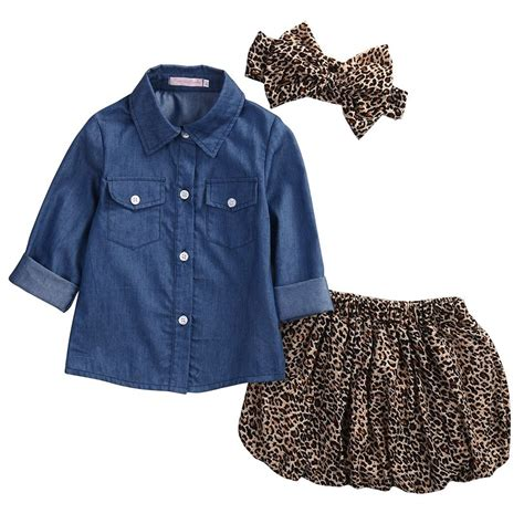 denim shirt for toddler 2017 new clothes fashion baby sleeve
