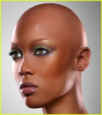 weaves for the bald tyra banks without her wig bold beautiful shades of