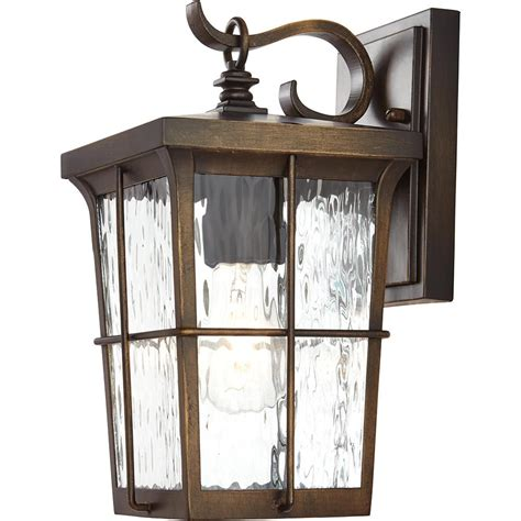 home decorators collection 1 light golden bronze outdoor 6