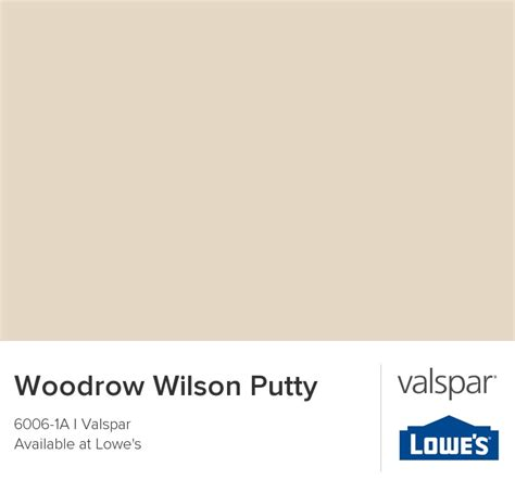 woodrow wilson putty from valspar home decorating design pinter