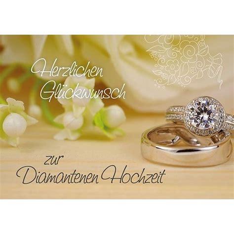 Diamantene Hochzeit by Herzlichen Gl 252 Ckwunsch Zur Diamantenen Hochzeit