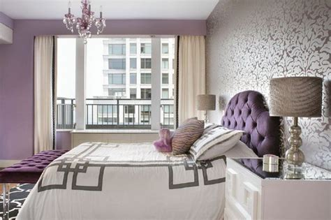 wallpapers for bedrooms walls purple and cream bedroom 80 inspirational purple bedroom designs ideas hative