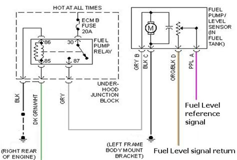 electrical 03 chevy suburban fuel failure motor