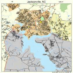 map of jacksonville carolina jacksonville carolina map 3734200