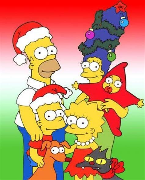 imagenes de la familia los simpson ranking de los dibujos animados y la navidad listas en