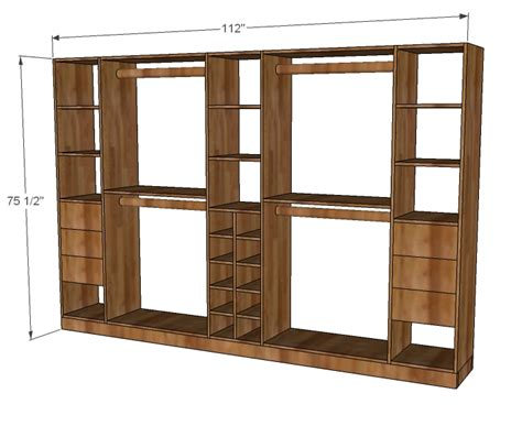 Closet Storage Plans Woodwork Free Closet Organizer Woodworking Plans Plans Pdf