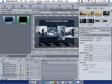 final cut pro dvd menu dvd studio pro training final cut pro training