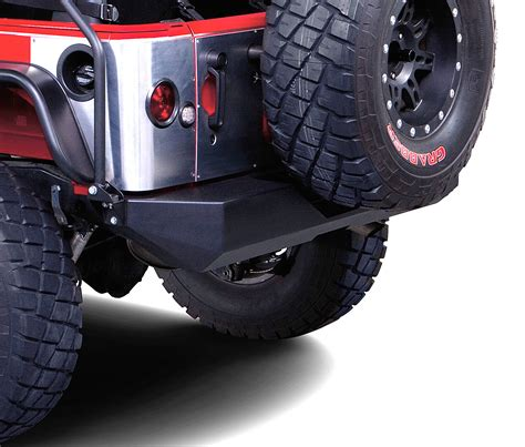 Rock Crawler Bumpers Jeep Warrior Products 592 Rear Rock Crawler Bumper For 07 17